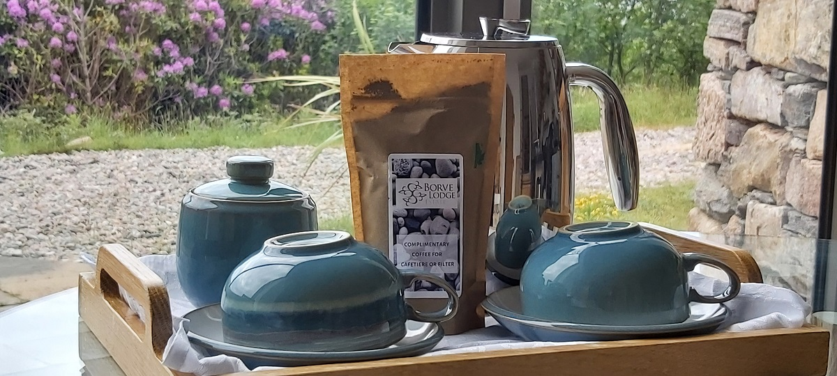 Borve Lodge Estate supports local businesses in Outer Hebrides